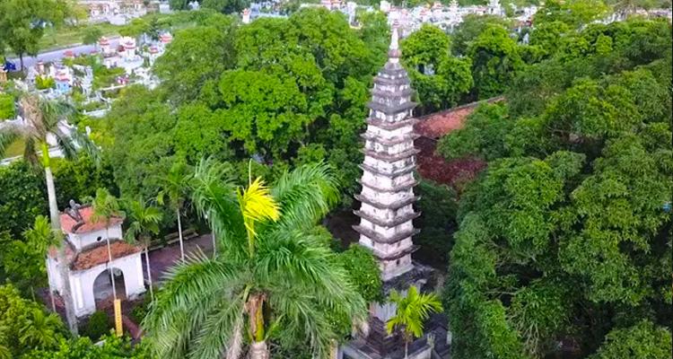 Tháp Phổ Minh tại Chùa Phổ Minh