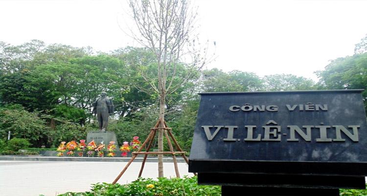 Công viên Lê Nin - Hà Nội