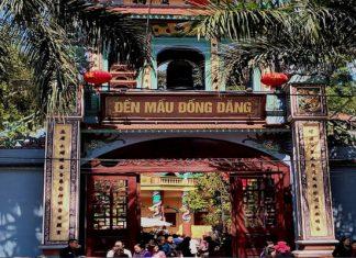 Đền Mẫu Đồng Đăng ở Lạng Sơn