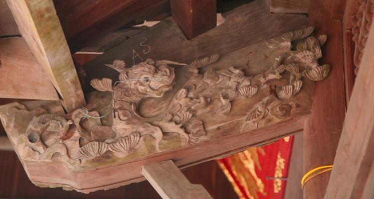 Kiến trúc Đền Trần Thương