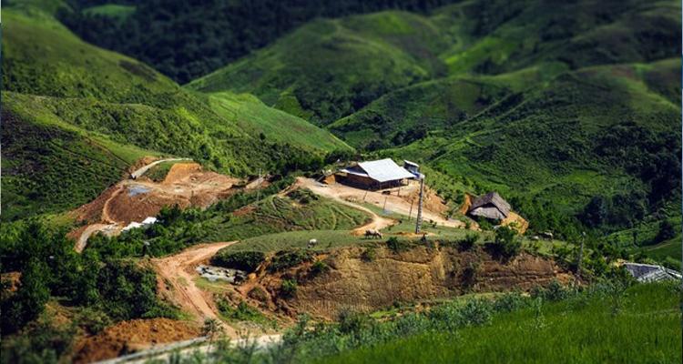 Đèo Pha Đin thung lũng Mường Quài