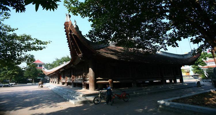 Kiến trúc độc đáo của Đình Bảng