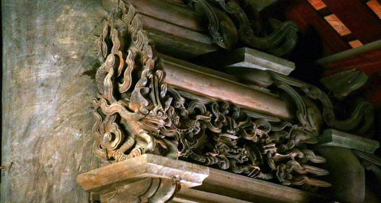Nghệ thuật hoa văn, kiến trúc tinh xảo của ngôi đình Đình Bảng