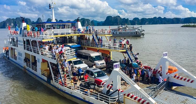 Du lịch Cát Bà phà Tuần Châu