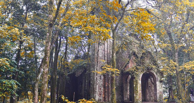 Vườn Quốc Gia Ba Vì Hà Nội nhà cổ