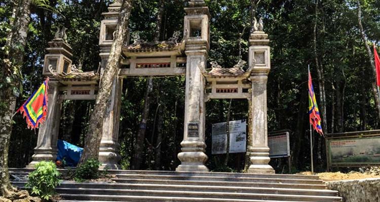 Vườn Quốc Gia Ba Vì Hà Nội đền thượng