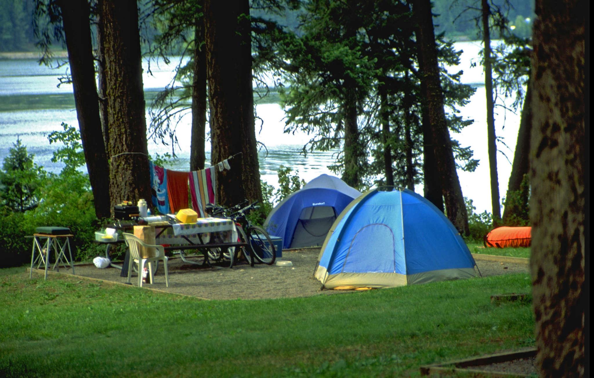 Cắm trại ở Đại Lải resort