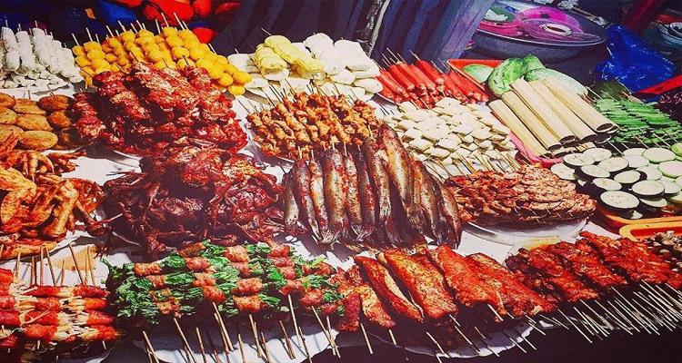 Đồ nướng ở Fansipan Sapa