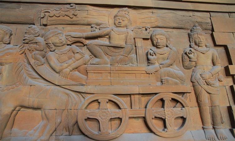 Hình ảnh chùa Tam Chúc - tượng điêu khắc