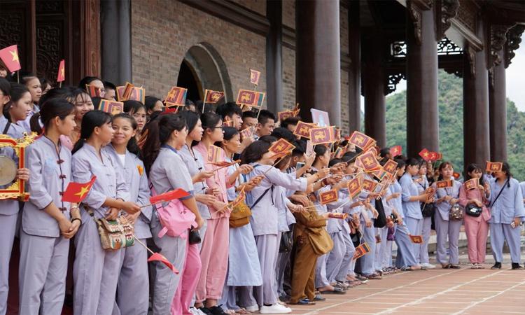 Hình ảnh chùa Tam Chúc - đại lễ