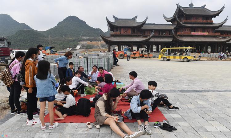 Hình ảnh chùa Tam Chúc - lễ chùa