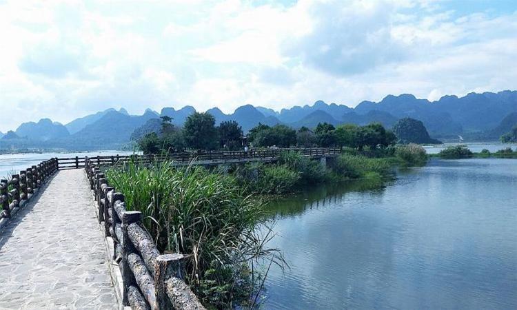 Hình ảnh chùa Tam Chúc - khuôn viên