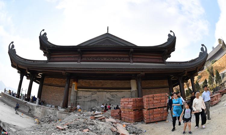 Hình ảnh chùa Tam Chúc - kiến trúc cổ