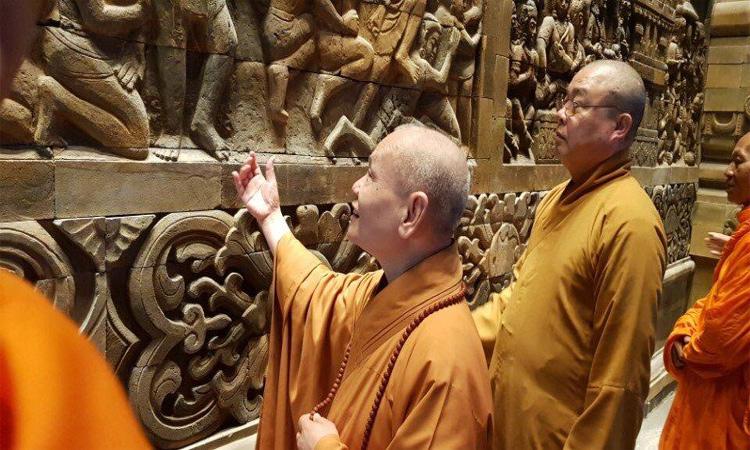 Hình ảnh chùa Tam Chúc - tượng phật
