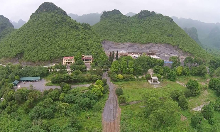 Hình ảnh chùa Tam Chúc - rộng lớn