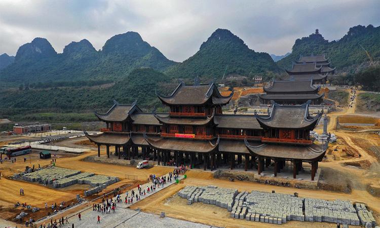 Hình ảnh chùa Tam Chúc - 2019