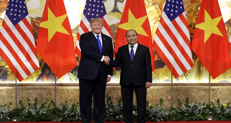 Tổng thống Mỹ Donald Trumpđã cuộc hội kiến với Thủ tướng Nguyễn Xuân Phúc