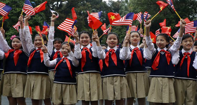 Chủ tịch nước Nguyễn Phú Trọng và Tổng thống Mỹ Donald Trump