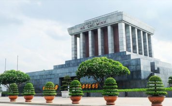 Hình ảnh lăng chủ tịch Hồ Chí Minh