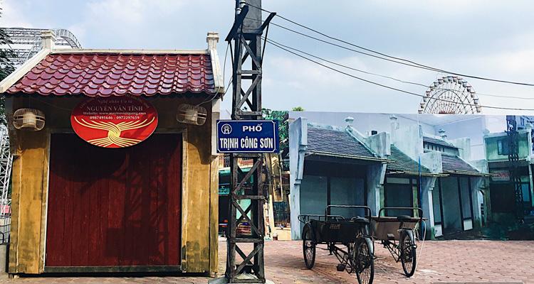 Hồ Tây có gì phố đi bộ Trịnh Công Sơn