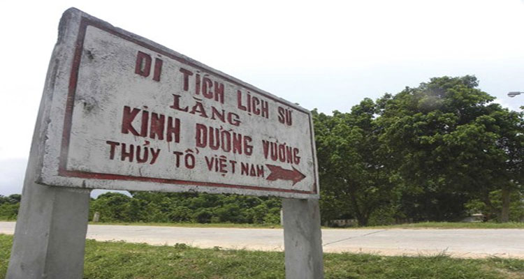 Lăng Kinh Dương Vương nơi thờ Thủy Tổ người Việt