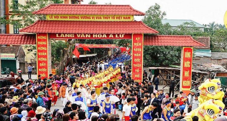 Lễ hội Kinh Dương Vương