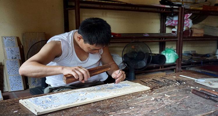 Bản khắc gỗ tranh Đông Hồ