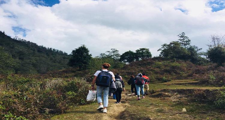 Để chinh phục thành công đỉnh núi Lảo Thẩn, các bạn sẽ phải đi tổng quãng đường leo là 16km.
