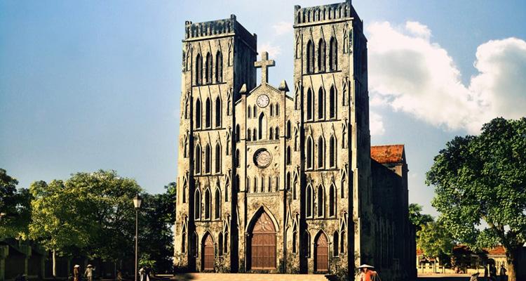 Nhà thờ Lớn Hà Nội xưa