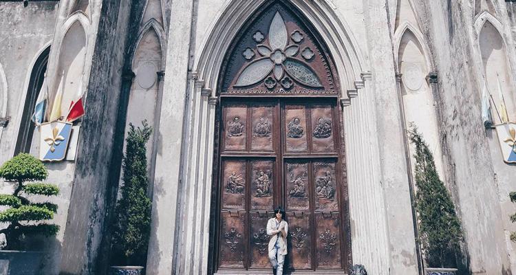 Check in tại Nhà thờ Lớn