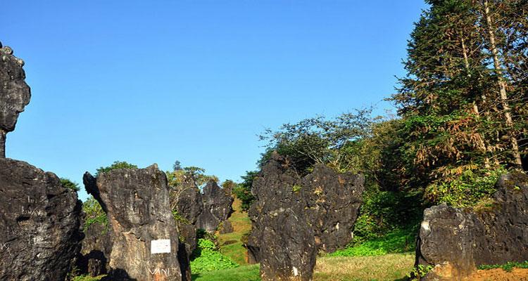Vườn đá Thạch Lâm ở núi Hàm Rồng