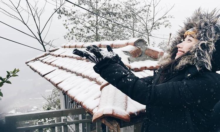Phan xi păng - tuyết rơi