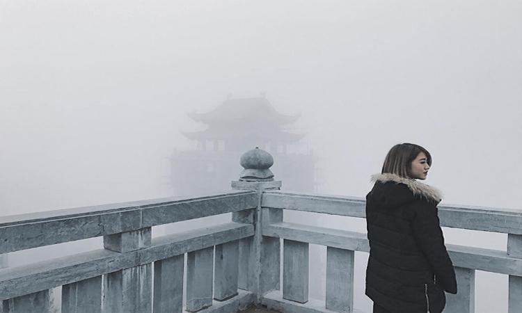 Phan xi păng - sương mờ