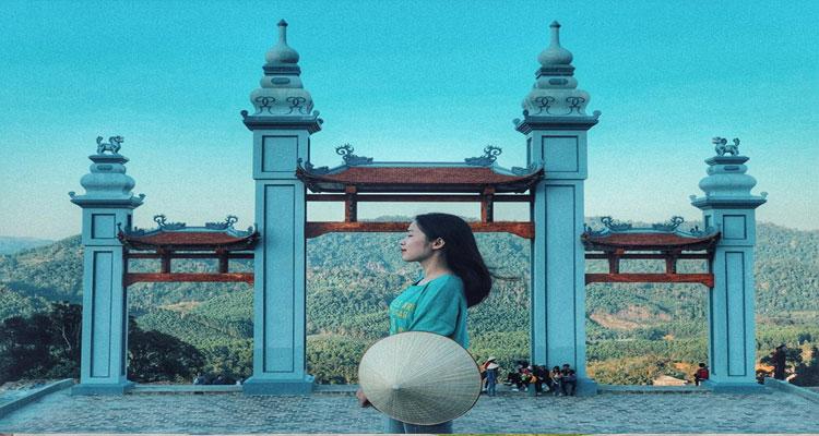Chùa Hạ ở Tây Yên Tử