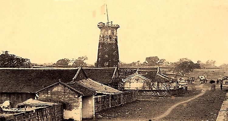 Các ngôi nhà bên trong Thành cổ Bắc Ninh