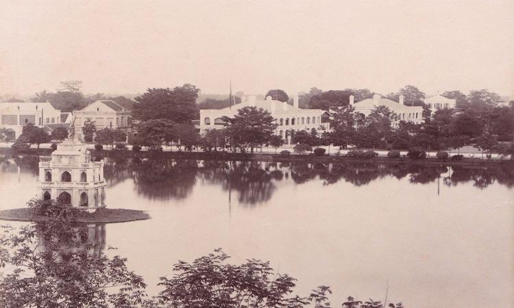 Tháp Rùa Hồ Gươm khi xưa