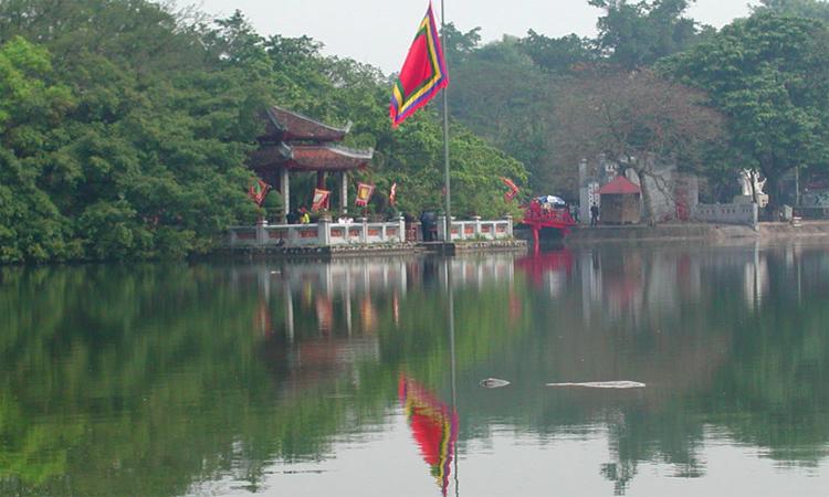Tháp Rùa Hồ Gươm và sự tích