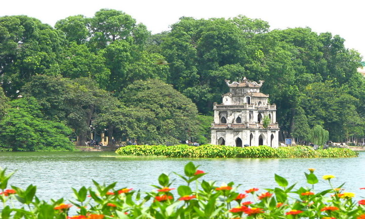 Tháp Rùa Hồ Gươm Hà Nội