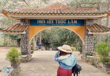 Thiền viện Trúc Lâm Đà Lạt nằm ở tỉnh Lâm Đồng