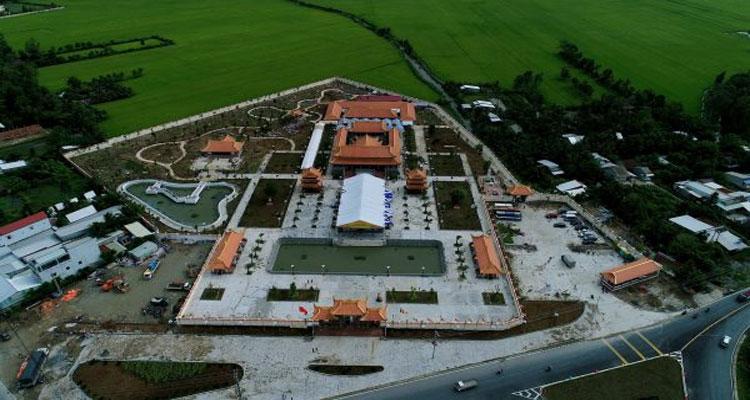 Thiền viện Trúc Lâm Hậu Giang sẽ là nơi tu hành, sinh hoạt tôn giáo của hơn 250 chức sắc, tăng, ni