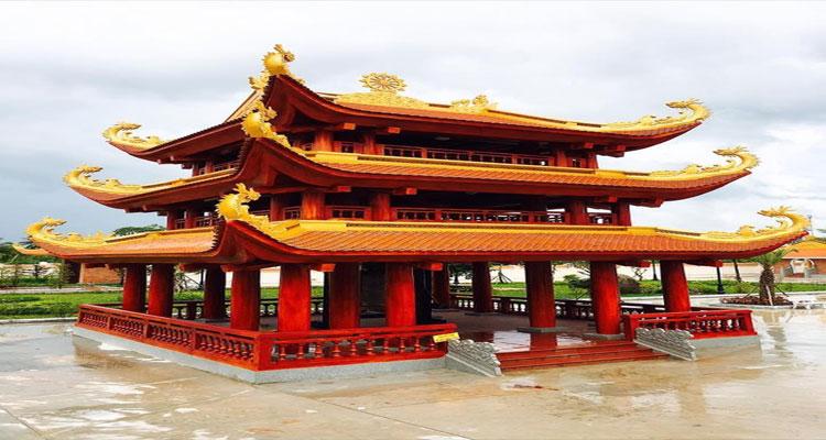 Kiến trúc của Thiền viện Trúc Lâm Hậu Giang