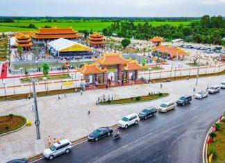 Thiền viện Trúc Lâm ở Hậu Giang