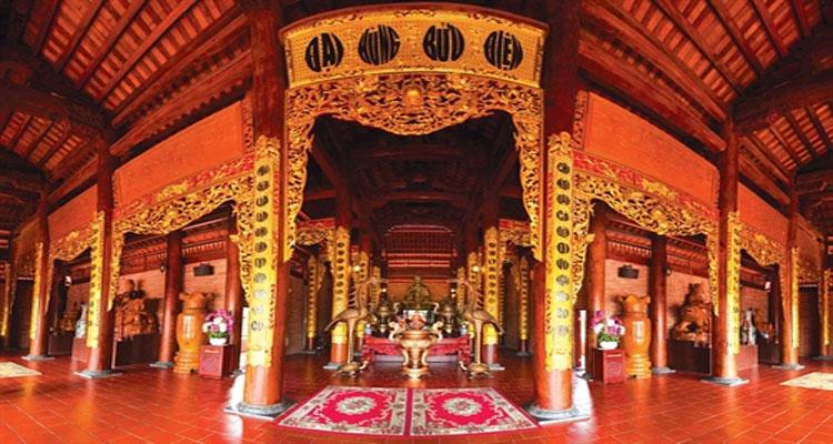 Chisng điện của Thiền viện trúc Lâm Phương Nam