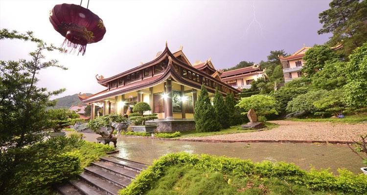 Kiến trúc củaThiền viện Trúc Lâm Tây Thiên