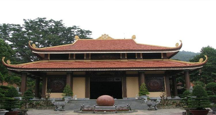 cấu trúc độc đáo của Thiền viện Trúc Lâm Yên Tử