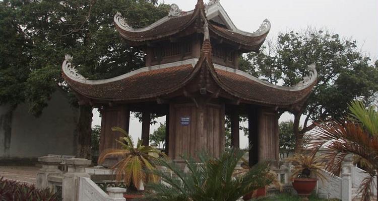 Văn miếu Mao Điền tháp chuông