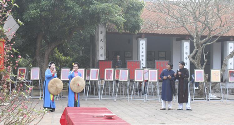 Lễ hội Văn miếu Xích Đằng