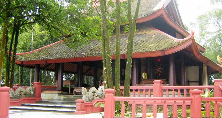 Vườn quốc gia Ba Vì đền thờ Bác Hồ