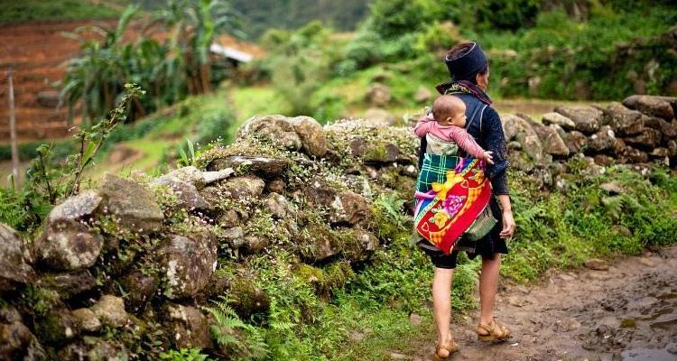 Du lịch Sapa qua 7 địa điểm - bản Cát Cát