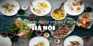 ăn gì ở Hà Nội 1